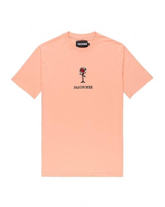 Pas De Mer Rose T-Shirt - Peach