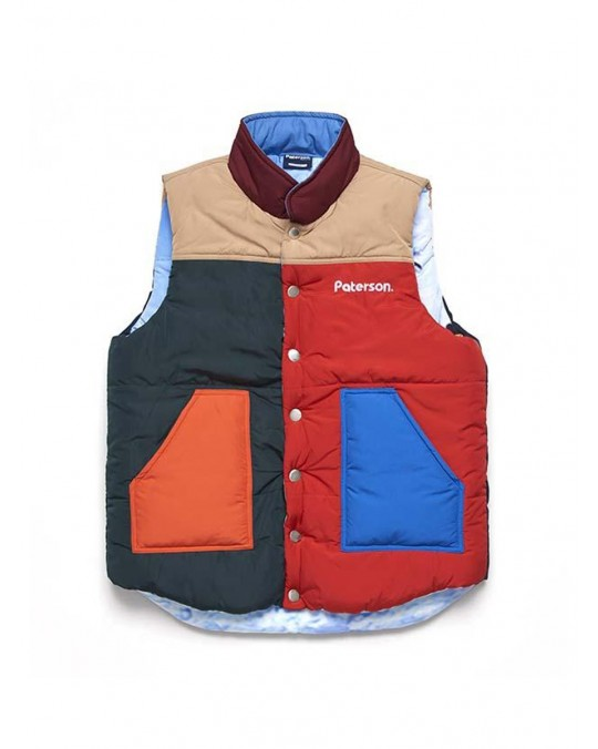 Paterson Cut It Reversable Vest - Multi