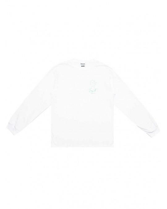 Paterson Fumeé L/S T-Shirt - White