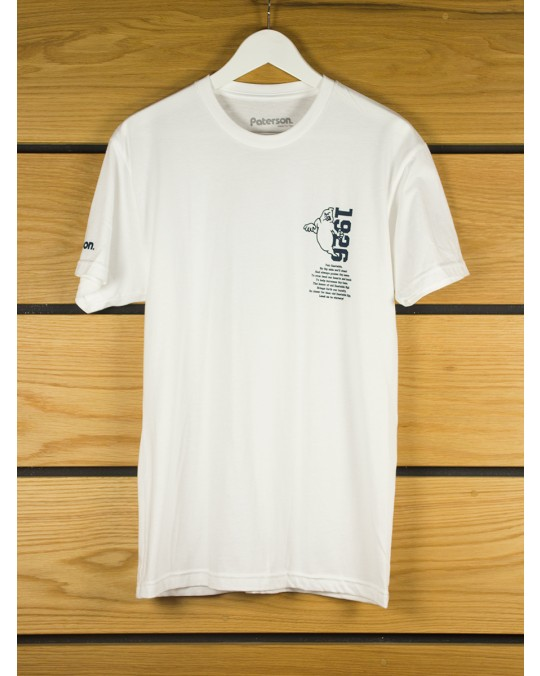 Paterson Ghost Town T-Shirt - White
