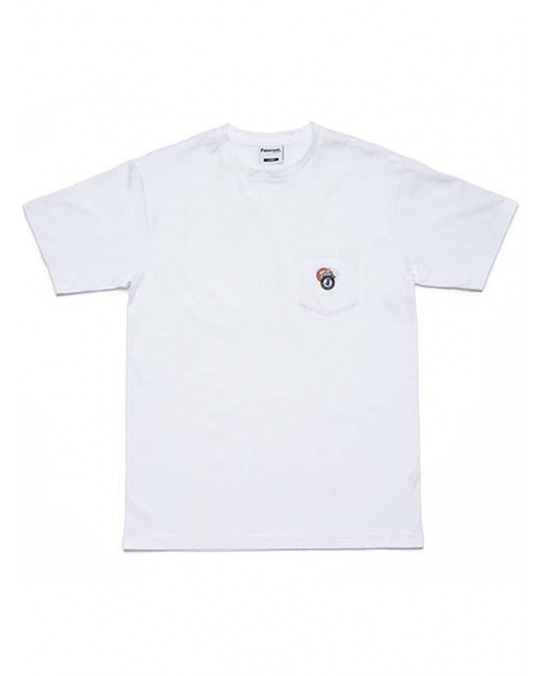 Paterson Made For Play Pocket T-Shirt - White