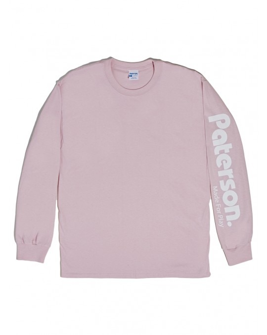 Paterson OG Logo L/S T-Shirt - Pink