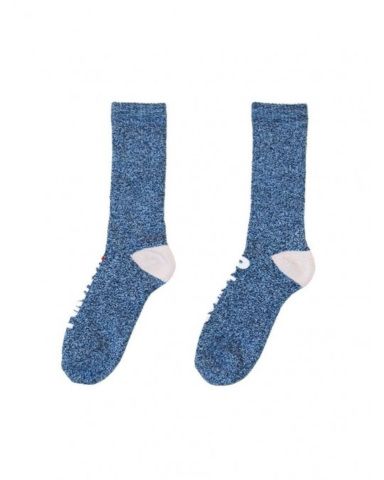 Paterson OG Logo Melange Socks - Blue Melange