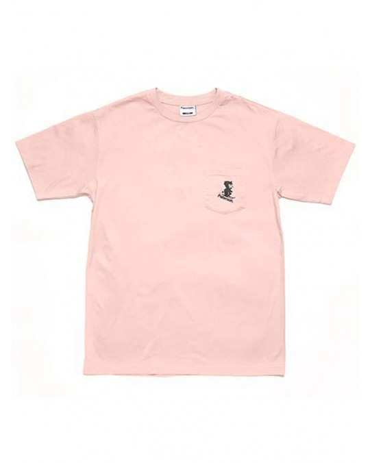 Paterson Snow Blower Pocket T-Shirt - Pink