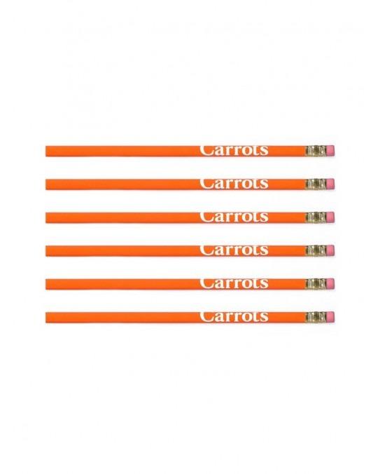 Carrots Pencil - Orange Green