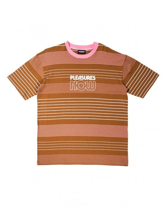 Pleasures Feedback T-Shirt - Brown