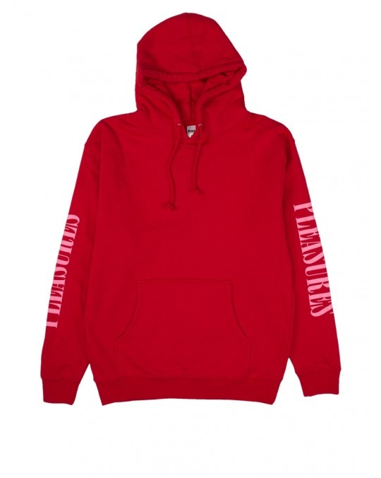 Pleasures Mark Of The Beast Pullover Hoody - Red