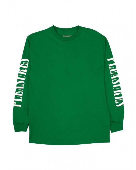 Pleasures Mark Of The Beast L/S T-Shirt - Kelly Green