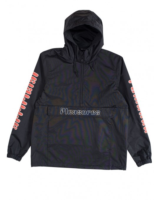 Pleasures Romance Anorak Jacket - Black