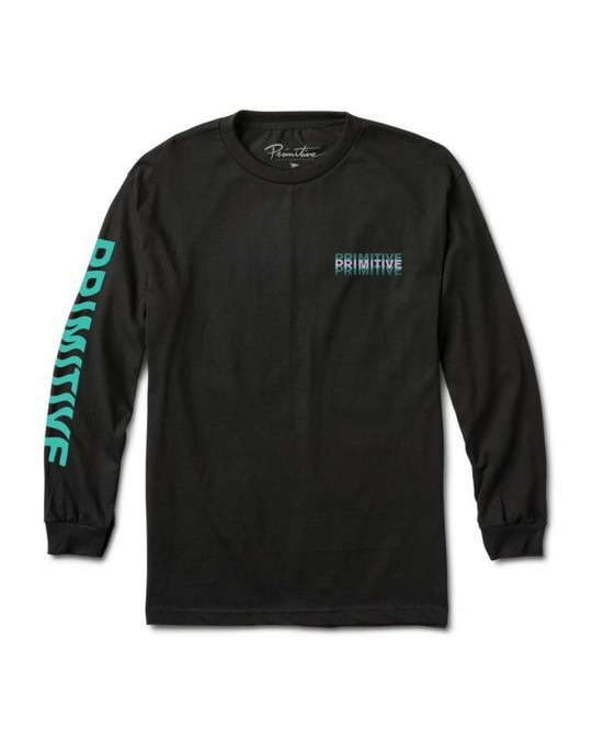 Primitive Pharaoh L/S T-Shirt - Black