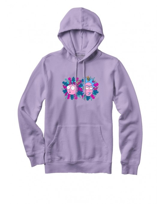 Primitive x Rick & Morty Dirty P Pullover Hoody - Lavender