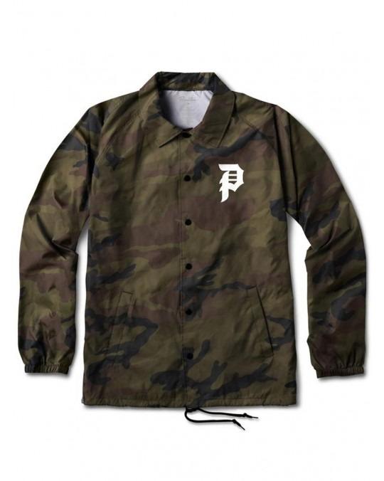 Primitive Dirty P Coach Jacket - Camo
