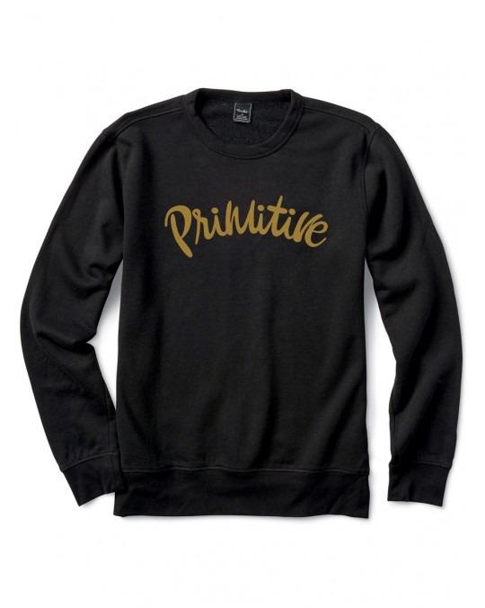 Primitive Dusty Crewneck - Black