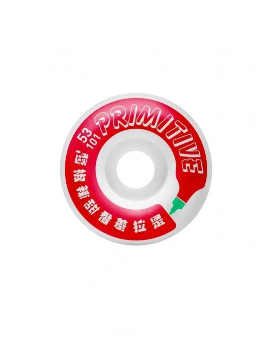 Primitive x Huy Fong Bottle Wheel Set 53mm