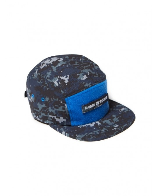 Raised by Wolves 5 Panel Juno Camp Cap - USN Blue