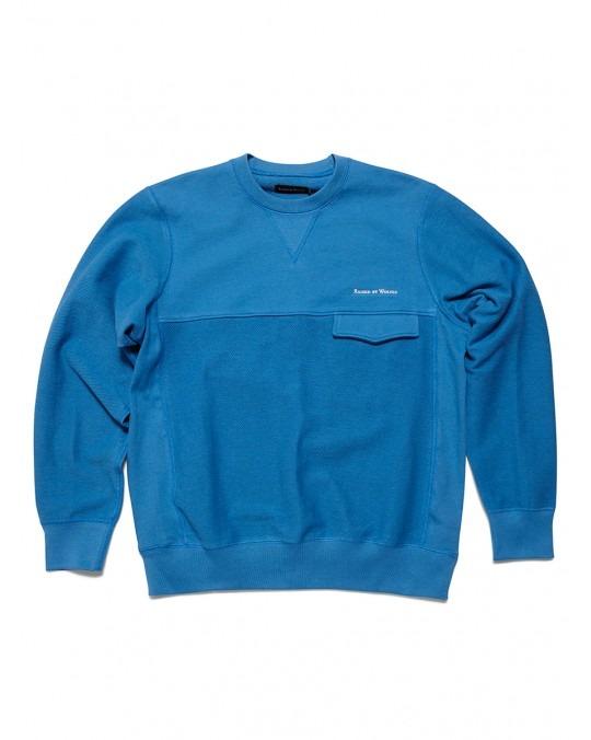 Raised by Wolves Windsor Pocket Sweatshirt - Indigo