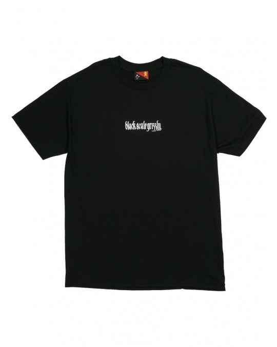 Grizzly x Black Scale Repeat T-Shirt - Black