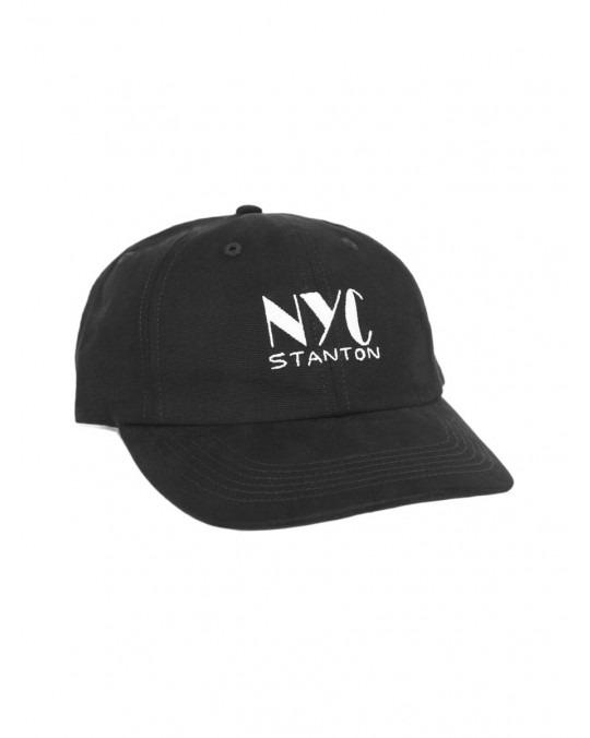 Stanton Street Sports Club Polo Hat - Black