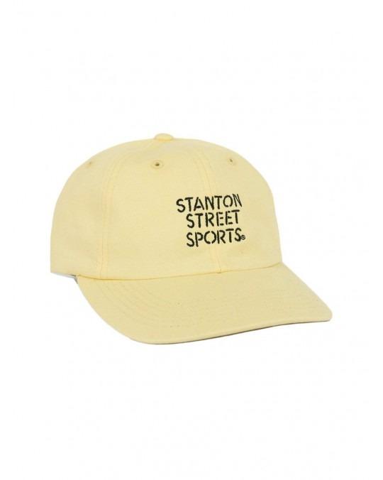 Stanton Street Sports Stencil Polo Hat - Daffodil