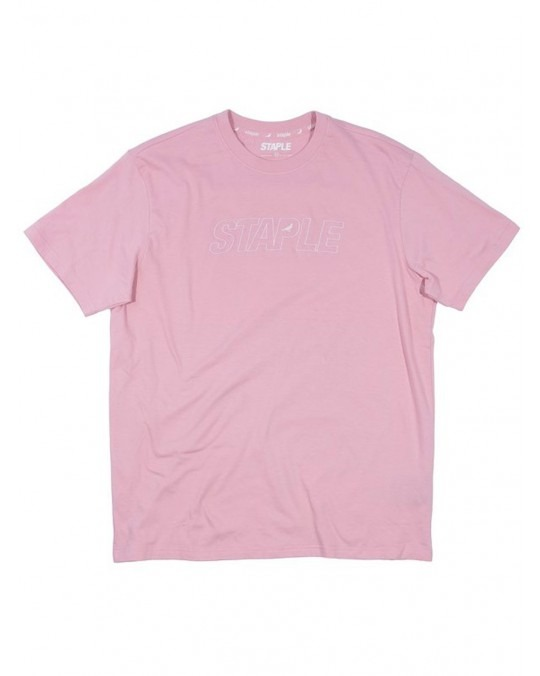 Staple Tonal Logo T-Shirt - Pink