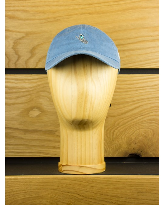 The Hundreds Aaron Kai Cell Strapback Dad Hat - Light Blue