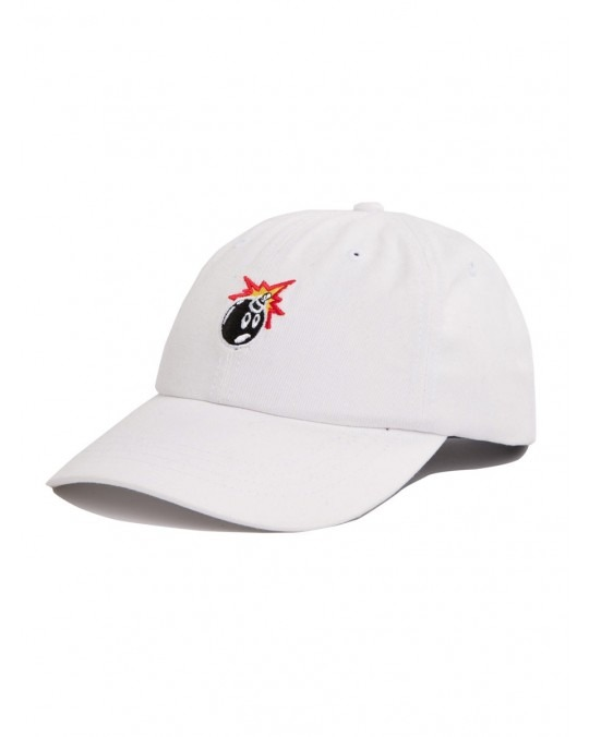 The Hundreds Adam Bomb Dad Hat - White