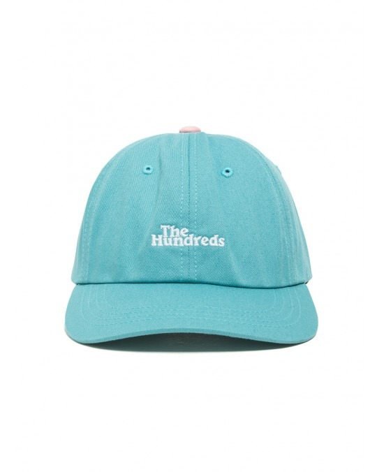 The Hundreds Hub Dad Hat Pale - Turquoise
