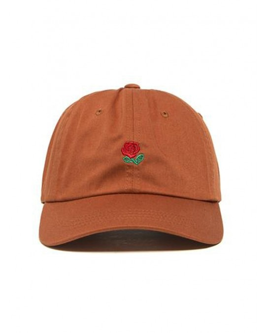 The Hundreds Rose Dad Strapback - Field Tan