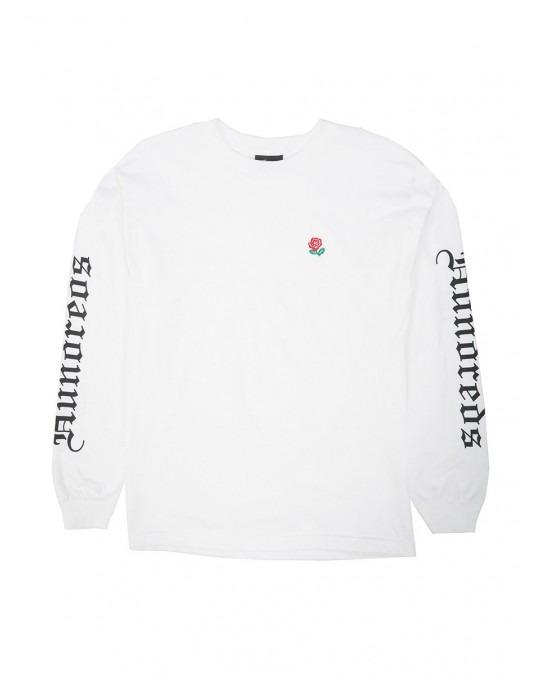 The Hundreds Rose English L/S T-Shirt - White