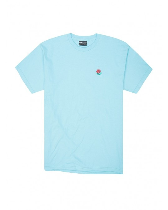 The Hundreds Rose English T-Shirt - Pacific Blue