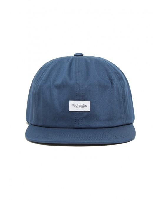 The Hundreds Script Snapback - Navy