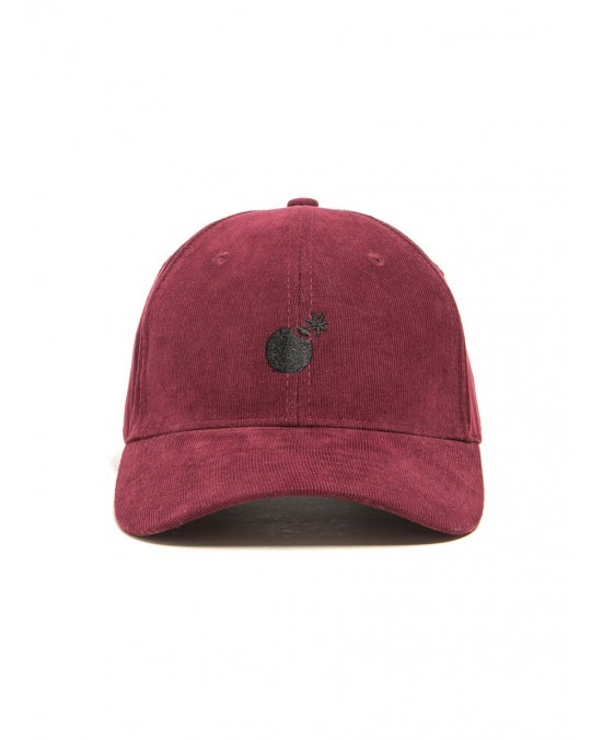The Hundreds Solid Bomb Dad Hat - Burgundy
