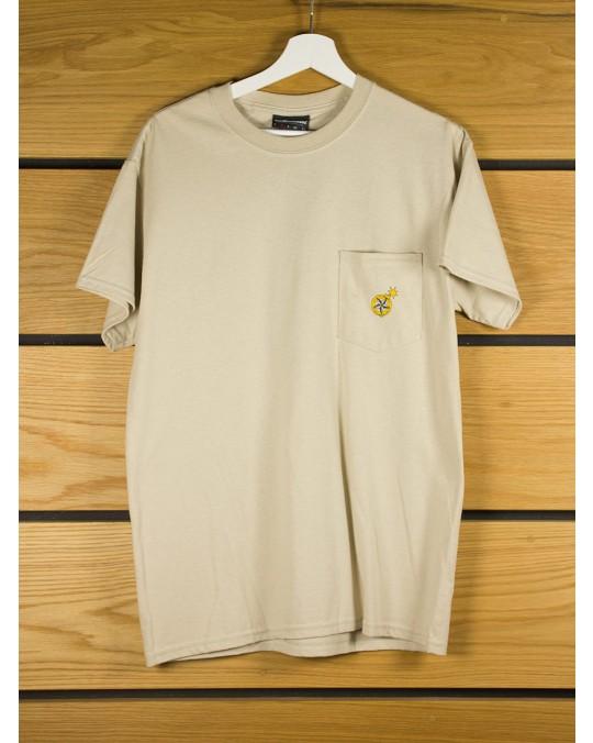 The Hundreds Urban Safari Pocket T-Shirt - Sand