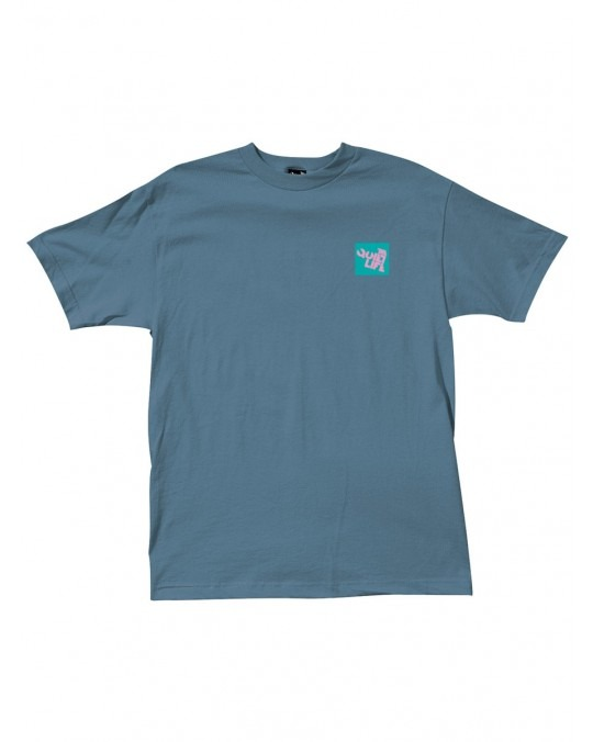 The Quiet Life Block Logo T-Shirt - Slate