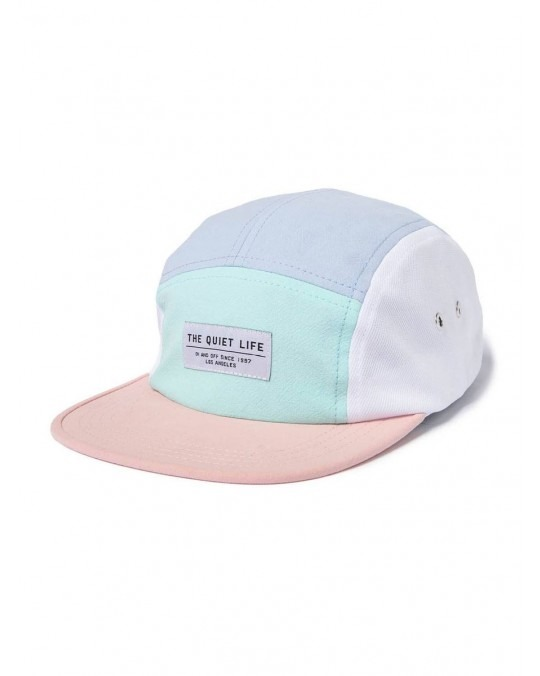 26168d46679ce The Quiet Life Boardwalk 5 Panel Camper Hat - Periwinkle