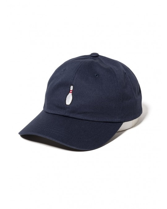 The Quiet Life Bowling Pin Dad Hat - Navy