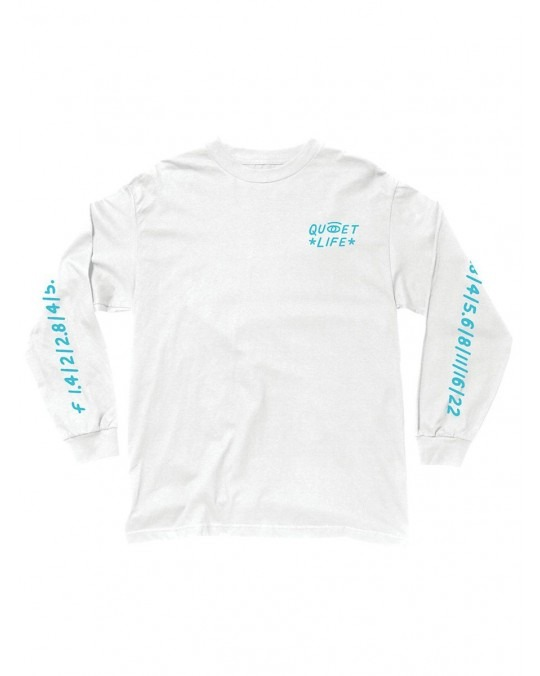 The Quiet Life Camera Club Eye L/S T-Shirt - White