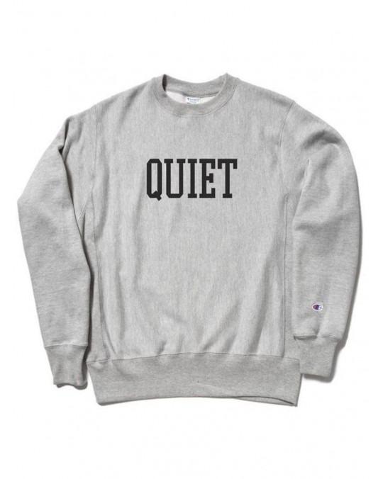The Quiet Life Champion Reverse Weave Crewneck - Heather Grey