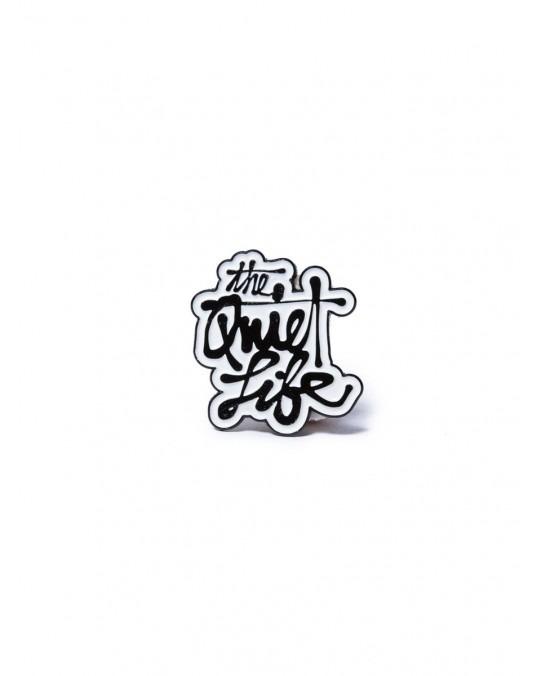 The Quiet Life Cody Script Label Pin - Multi