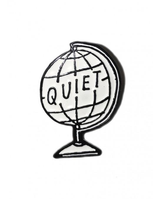 The Quiet Life Globe Lapel Pin