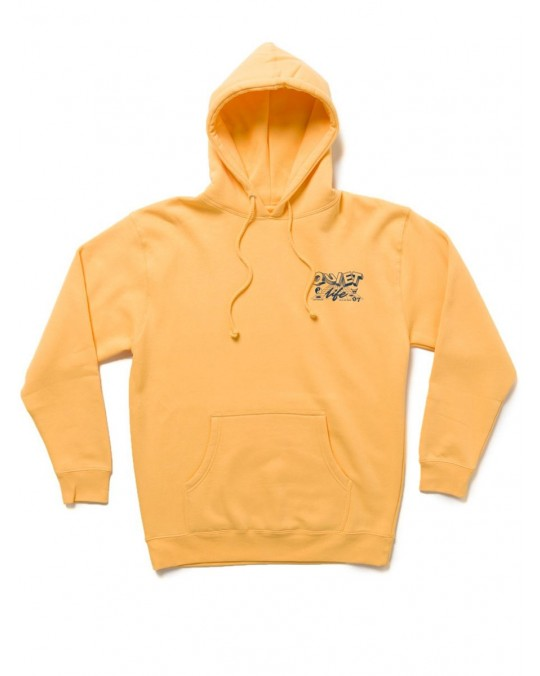 The Quiet Life Grid Pullover Hoody - Peach