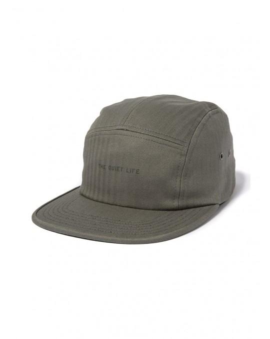 The Quiet Life Herringbone 5 Panel Camper Hat - Sage