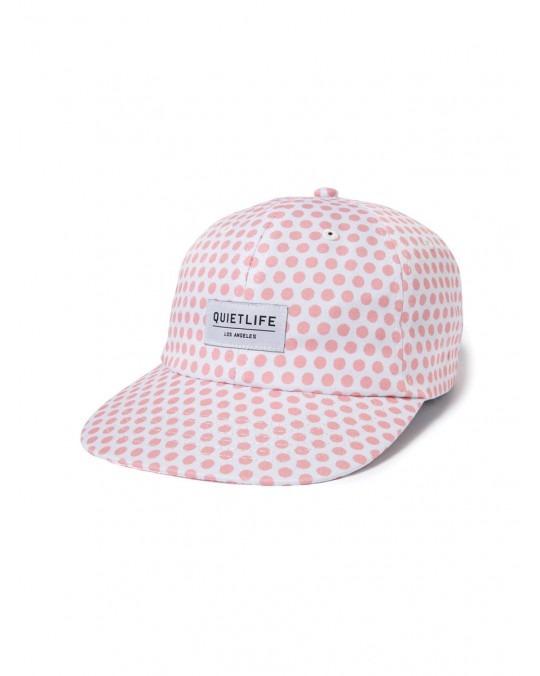 The Quiet Life Lichtenstein Polo Hat - White Pink