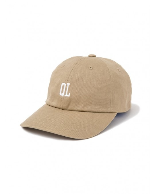 The Quiet Life Micro QL Dad Hat - Khaki