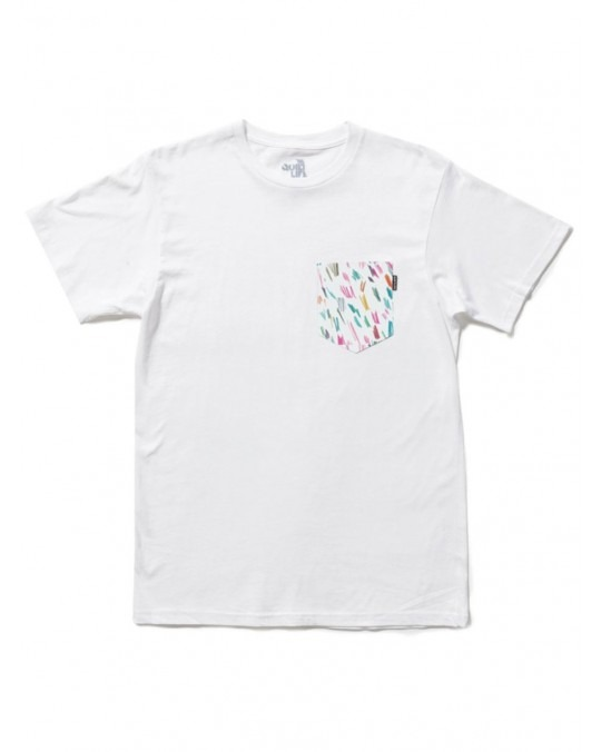 The Quiet Life Scribble Pocket T-Shirt - White