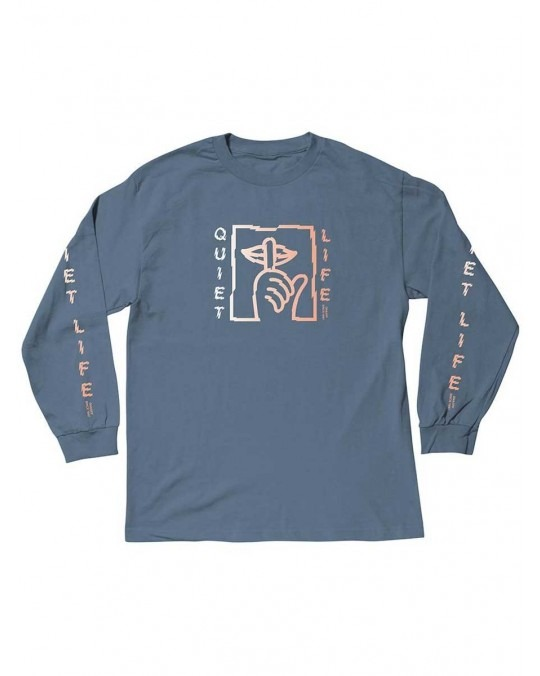 The Quiet Life Shatter L/S T-Shirt - Slate