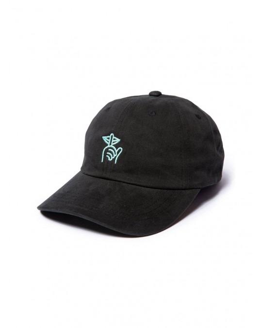 The Quiet Life Shhh Dad Hat - Black