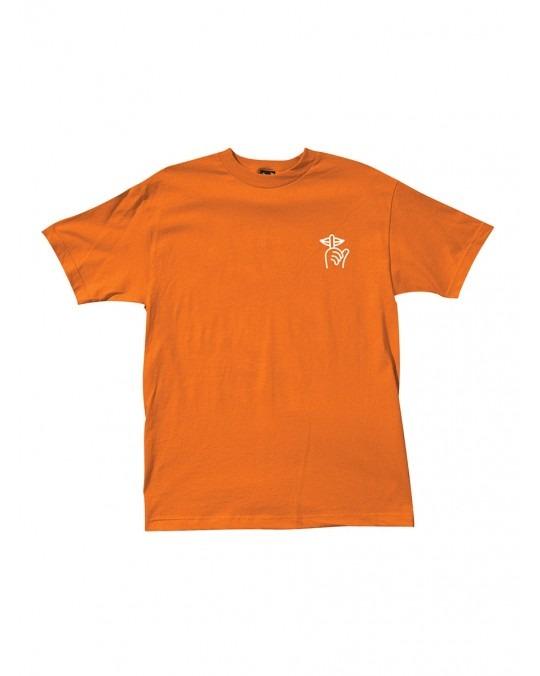 The Quiet Life Shhh T-Shirt - Orange