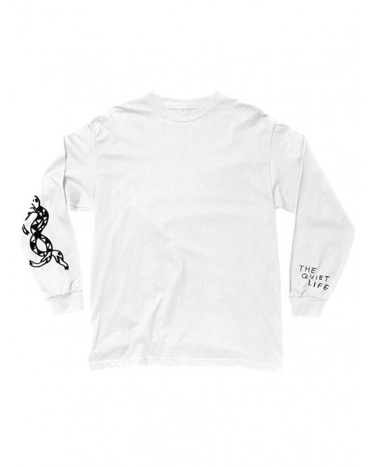 The Quiet Life Snakes L/S T-Shirt - White