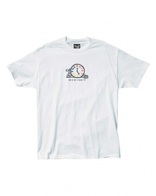 The Quiet Life Tick Tock T-Shirt - White